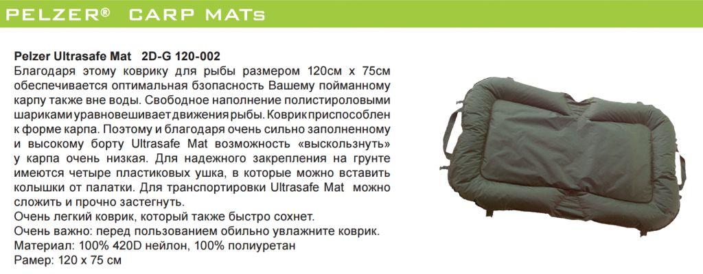 Pelzer Ultrasafe Mat 120x75